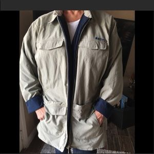 Jackets & Blazers - NWT Ex-Officio Reversible Multi Pocket Travel Coat